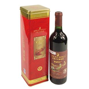 11.5° 长城干红葡萄酒 龙禧99 解百纳 750ML