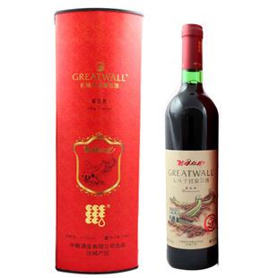 12.5° 长城葡萄酒 (红龙)婚宴葡萄酒 750ml