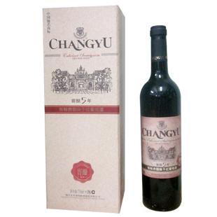 12° 张裕干红(窖酿5年)赤霞珠 特选级 干红葡萄酒 750ml